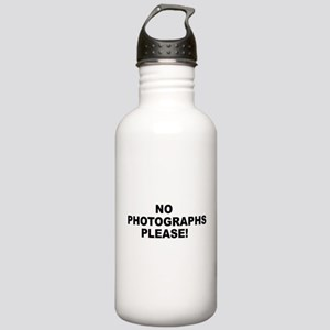 No Photographs Please! Stainless Water Bottle 1.0L