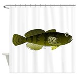 Banded Sculpin Shower Curtain