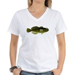 Banded Sculpin Women's V-Neck T-Shirt