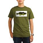 Banded Sculpin Organic Men's T-Shirt (dark)