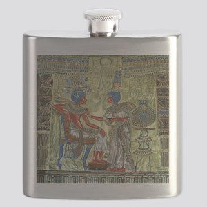 Tutankhamons Throne Flask