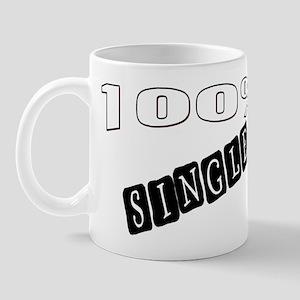 100% Single Mug