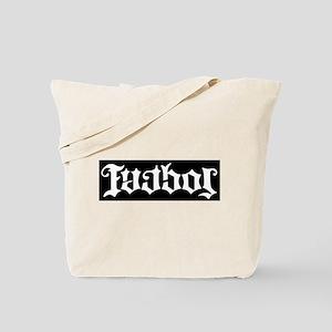 Futbol Soccer Ambigram Tote Bag