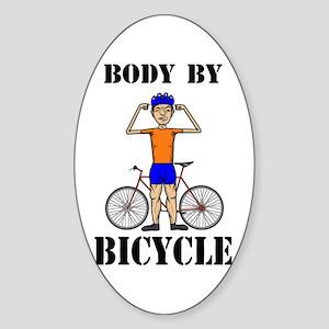 Funny Design Sticker (Oval)