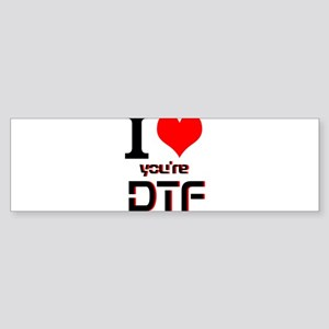DTF Sticker (Bumper)