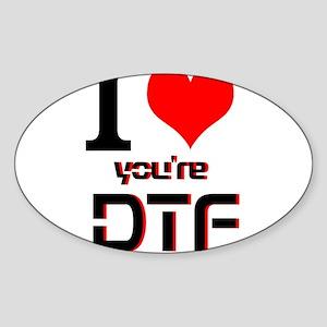 DTF Sticker (Oval)