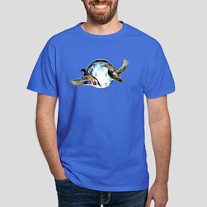 Mallards in flight Dark T-Shirt