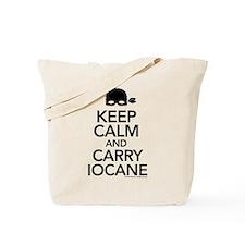 Keep Calm and Carry Iocane Tote Bag