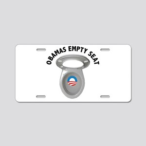 Obama Empty Chair - Toilet Seat Aluminum License P