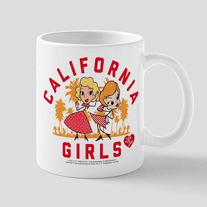 I Love Lucy California Girls 11 oz Ceramic Mug