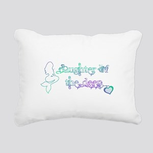 daughter of the deep Rectangular Canvas Pillow