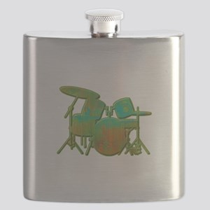 Funky Drumset Flask