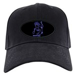 Kokopelli Dancer Black Cap