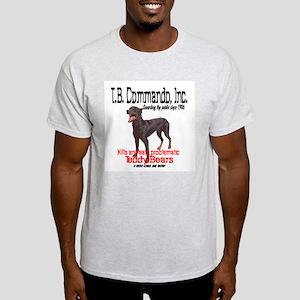 Commando Ash Grey T-Shirt