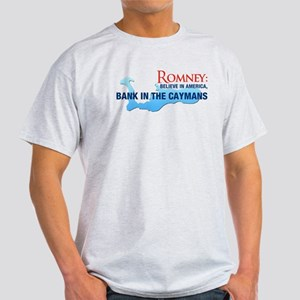 Romney Bank in Caymans Light T-Shirt