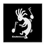 Kokopelli Dancer Tile Coaster