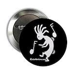 Kokopelli Dancer Button