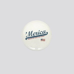 Vintage Team 'Merica Mini Button