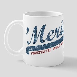 Vintage Team 'Merica Mug