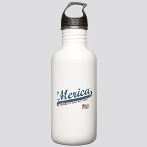 Vintage Team 'Merica Stainless Water Bottle 1.0L