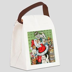 Santa's Little Helpers Canvas Lunch Bag