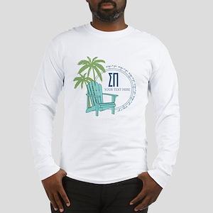 Sigma Pi Beach Chair Personali Long Sleeve T-Shirt
