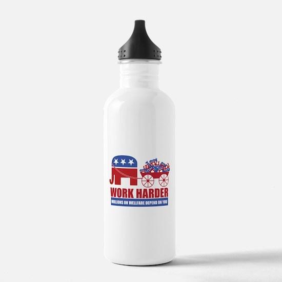 Work Harder Water Bottle