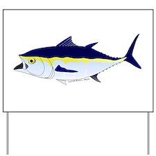 Bluefin Tuna fish Yard Sign