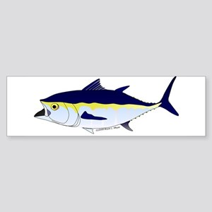 Bluefin Tuna fish Sticker (Bumper)