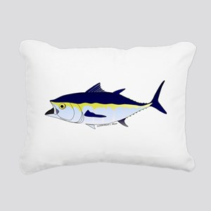 Bluefin Tuna fish Rectangular Canvas Pillow