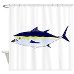 Bluefin Tuna fish Shower Curtain