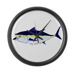 Bluefin Tuna fish Large Wall Clock