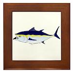 Bluefin Tuna fish Framed Tile