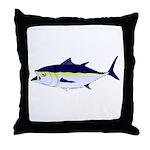 Bluefin Tuna fish Throw Pillow