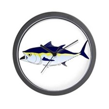 Bluefin Tuna fish Wall Clock