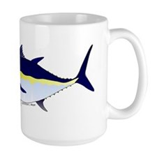 Bluefin Tuna fish Large Mug