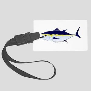 Bluefin Tuna fish Large Luggage Tag