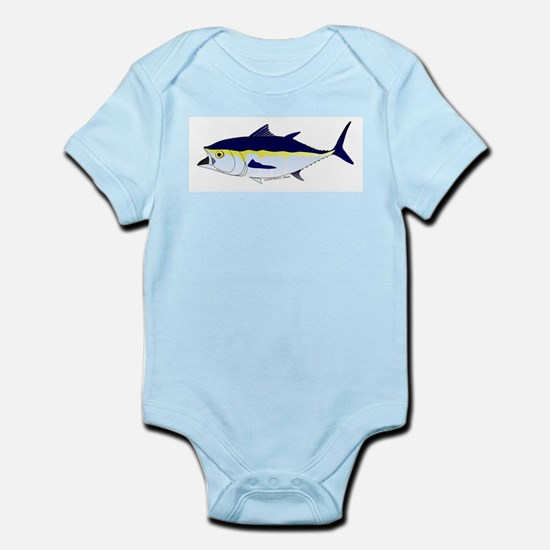 Bluefin Tuna fish Infant Bodysuit