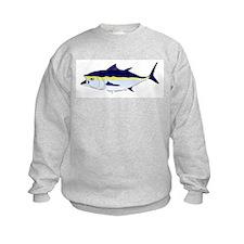 Bluefin Tuna fish Kids Sweatshirt