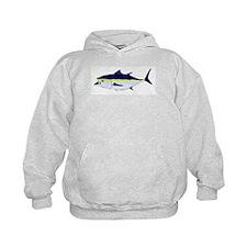 Bluefin Tuna fish Kids Hoodie