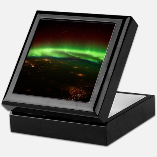 Aurora Borealis Midwest Keepsake Box