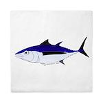 Albacore tuna fish Queen Duvet
