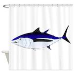 Albacore tuna fish Shower Curtain