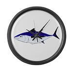 Albacore tuna fish Large Wall Clock