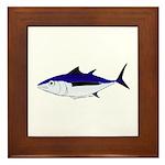 Albacore tuna fish Framed Tile