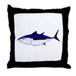 Albacore tuna fish Throw Pillow