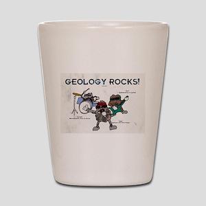 Geology rocks original Shot Glass