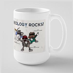 Geology rocks original Large Mug