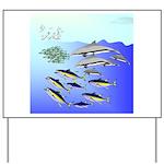 Yellowfin Tuna (Allison Tuna) Yard Sign
