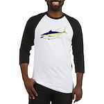 Yellowfin Tuna (Allison Tuna) Baseball Jersey